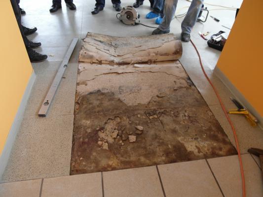 Fußbodenkonstruktion